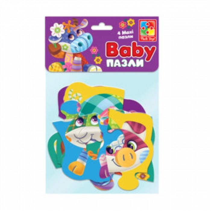Беби MAXI пазлы картонные в пакете «Диво-ферма»