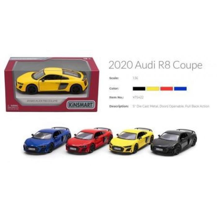Машина «Kinsmart» 5'' Audi R8 Coupe