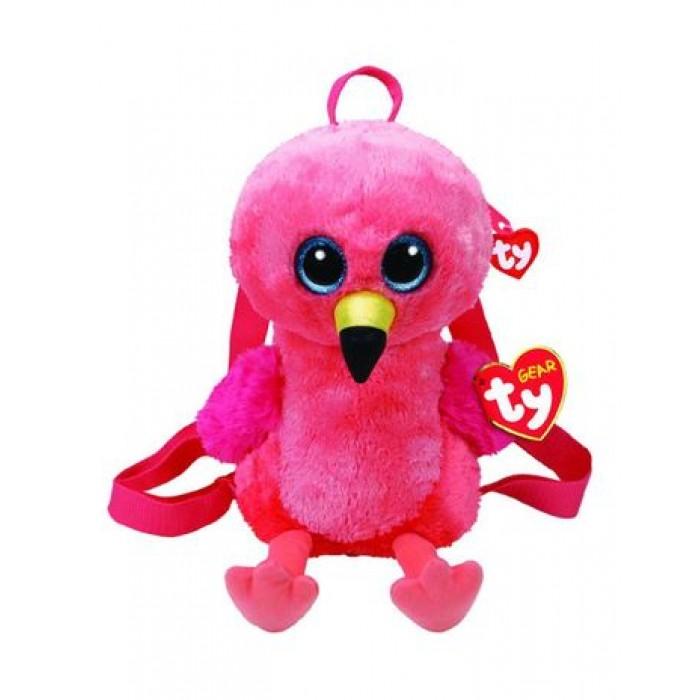 Мягкая игрушка сумочка TY Gear Фламинго «Gilda», 25*18см