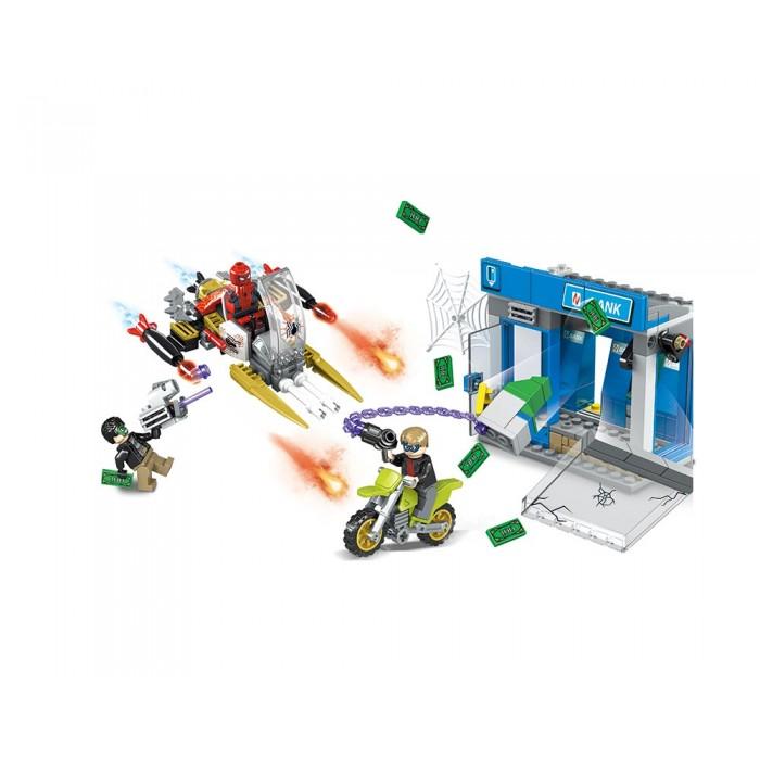 Конструктор JVToy «Ограбление банкомата» 288 деталей