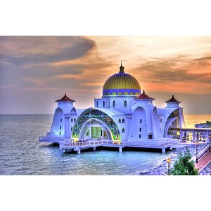 Алмазная мозаика «Малайзия», 30*40см, с рамкой