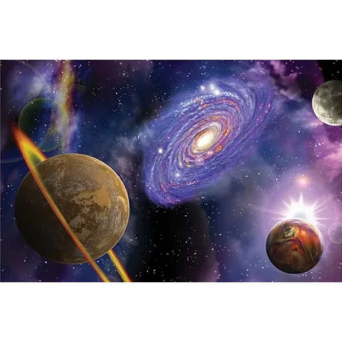 Алмазная мозаика «Галактика», 30*40см, с рамкой