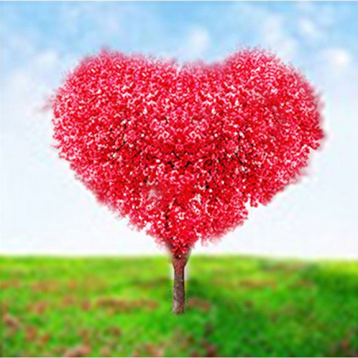 Алмазная мозаика «Древо любви», 30*40см, без рамки