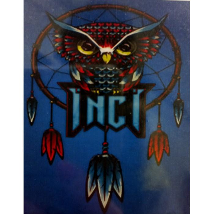 Алмазная мозаика «Тотем совы», 30*40см, без рамки