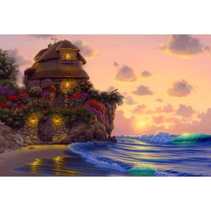 Алмазная мозаика «Романтическое место», 30*40см, без рамки