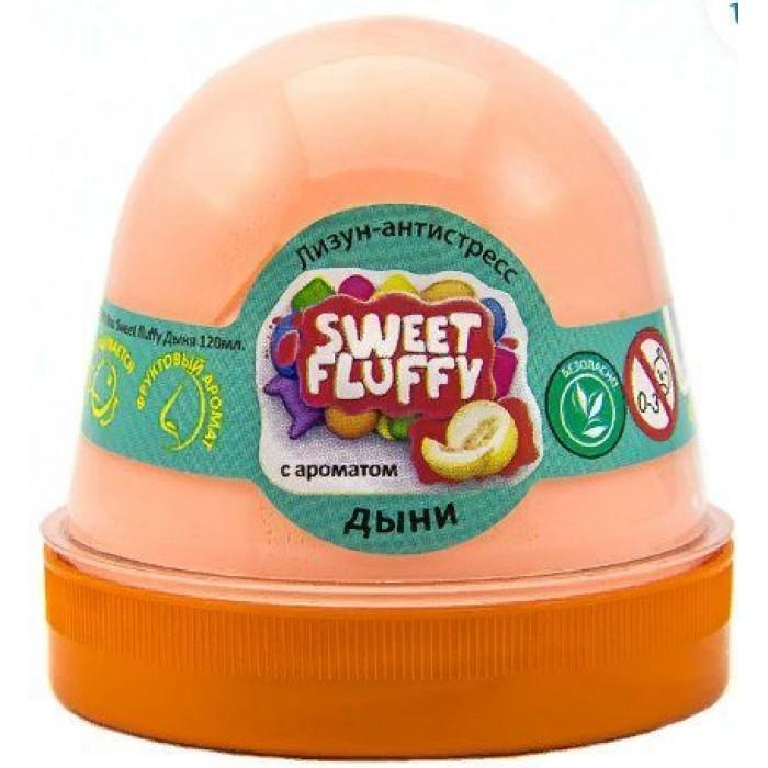 Лизун-антистресс ТМ Mr.Boo Sweet fluffy дыня, 120 г