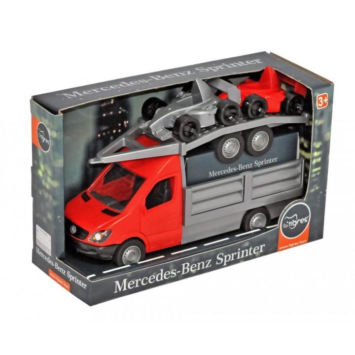 Автомобиль «Mercedes-Benz Sprinter» бортовой с лафетом