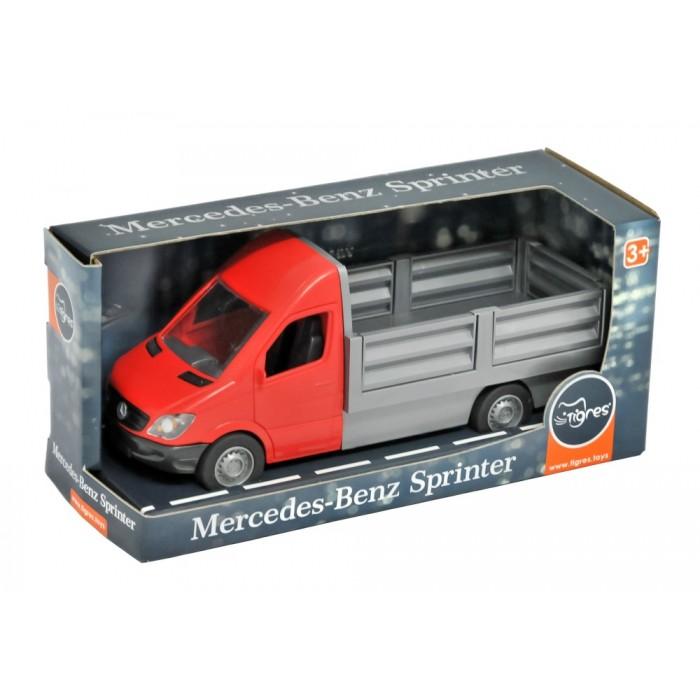 Автомобиль «Mercedes-Benz Sprinter» бортовой (красный)