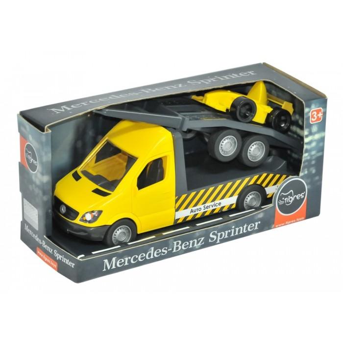 Автомобиль «Mercedes-Benz Sprinter» эвакуатор с лафетом