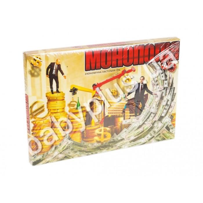 Игра экономическая настольная «Monopolist», русская