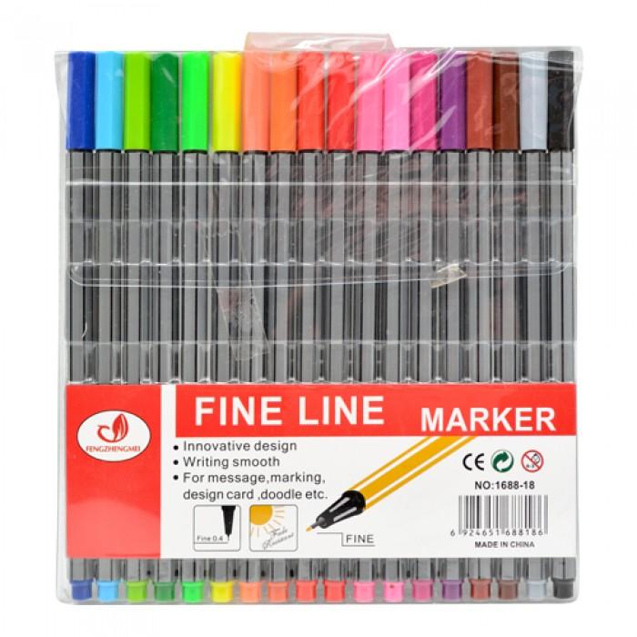 Набор ручек «Fine Line» 18 цветов