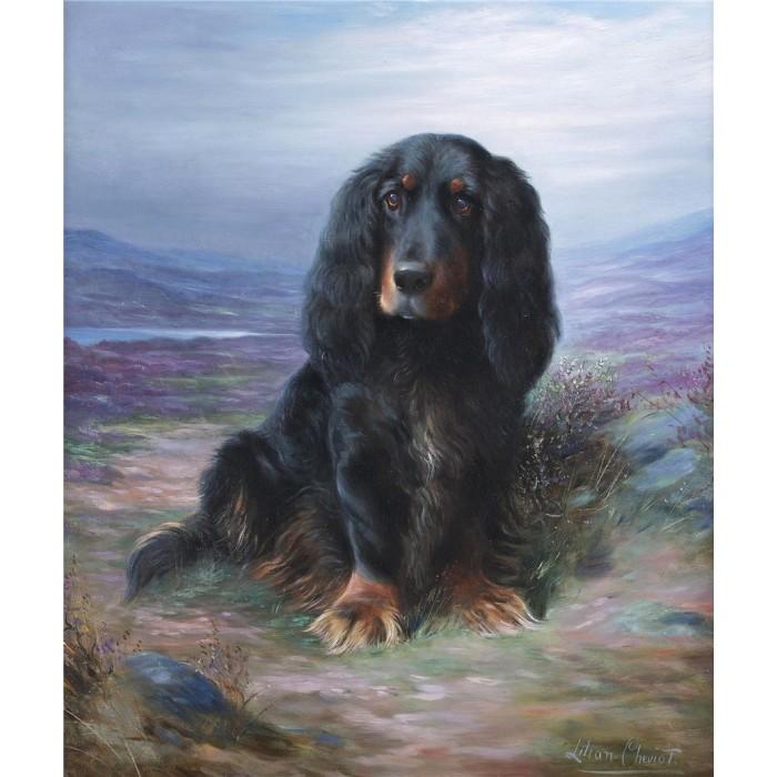 Алмазная мозаика «Соседская собака», 30*40см, без рамки