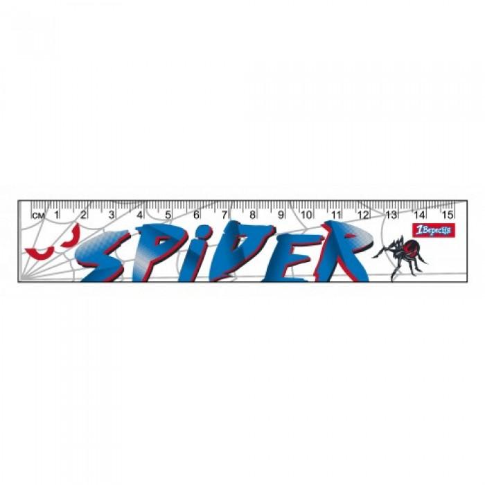 Линейка 15 см «Spider»